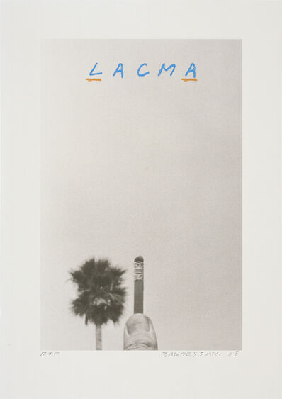 John Baldessari, 'For LACMA', 2008