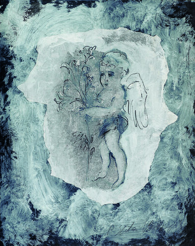 SRĐAN VUKČEVIĆ, 'The Lilies Carrier', 1999