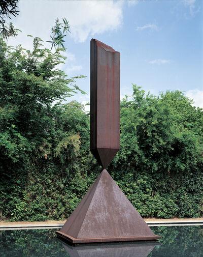 Barnett Newman, 'Broken Obelisk', 1963-1967