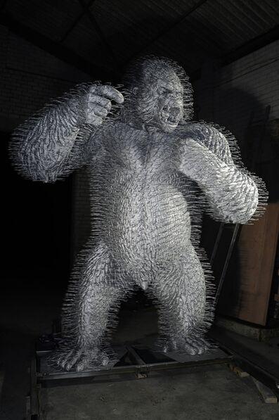 David Mach, 'Silver Streak', 2010