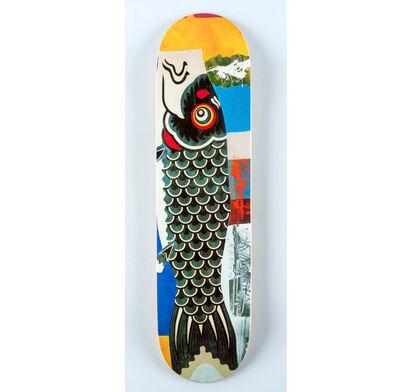 Robert Rauschenberg, 'Rauschenberg skateboard deck', 2016