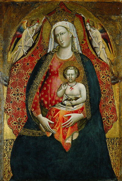 Giovanni di Marco, called Giovanni dal Ponte, 'Madonna and Child with Angels', 1410