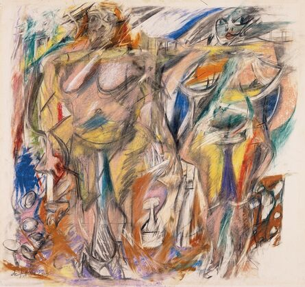 Willem de Kooning, 'Two Women with Still Life', 1952
