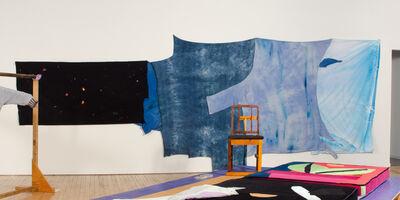 Chris Johanson, 'Sky shroud 2 ', 2015