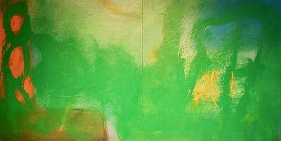 Ulla Neigenfind, 'Enigma: Green, Orange, Yellow', 2018