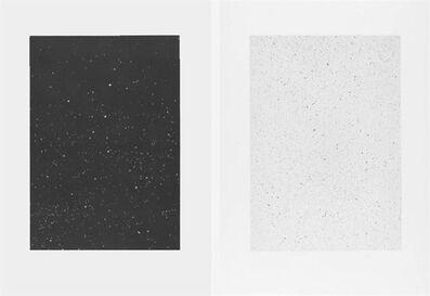 "Vija Celmins, '""Divided Night Sky"" and ""Reverse Galaxy""', 2010"