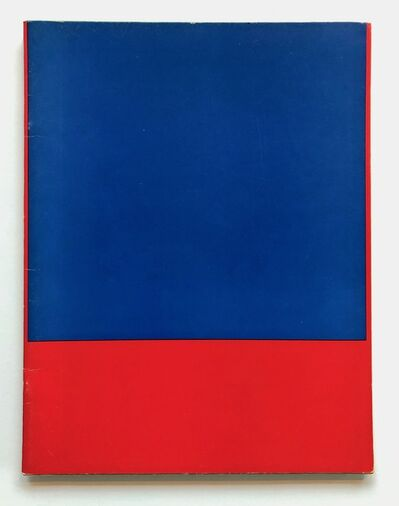 Ellsworth Kelly, 'Green catalogue', 1965