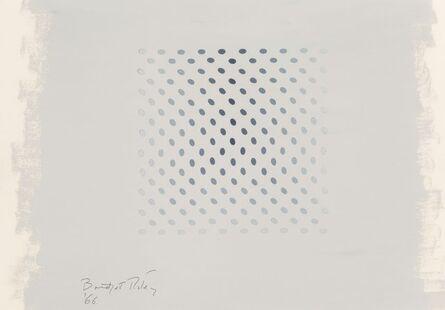Bridget Riley, 'Study for Deny', 1966