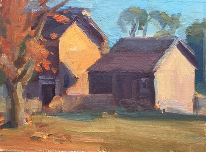 Pratima Rao, 'Fall Light in Longstreet Farm (Plein air)', 2019