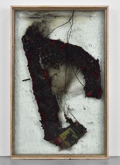 Vivien Roubaud, 'Feu d'artifice, gel de petrole degazé, verre feuilleté, frene', 2016