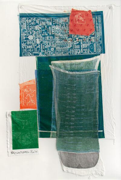 Robert Rauschenberg, 'Platter (from Airport Series)', 1974