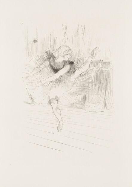 Henri de Toulouse-Lautrec, 'Miss Ida Heath, English Dancer', 1894