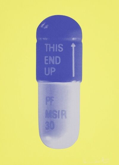 Damien Hirst, 'The Cure, NeonYellow-FrenchLilac-Amethyst', 2014