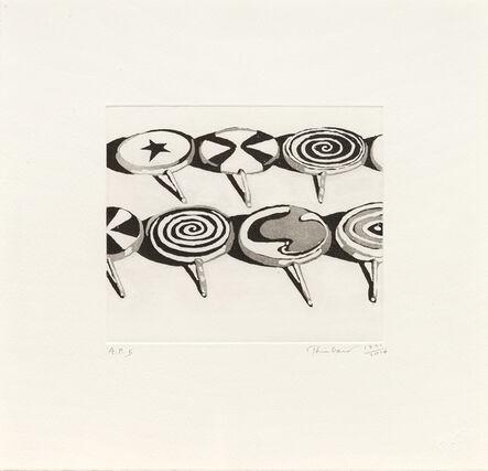 Wayne Thiebaud, 'Little Suckers', 1971-2014