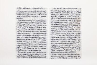 Lisa Kokin, 'Empathy (Cruelties of Prison Life, Oscar Wild)', 2014