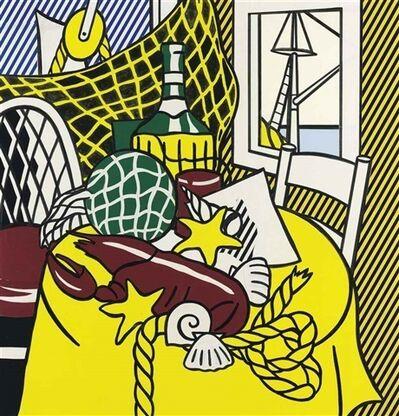 Roy Lichtenstein, 'Collage for Still Life with Lobster ', 1973