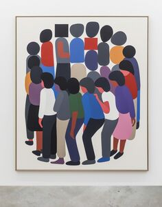 Geoff McFetridge, 'In A Line With Our Backs To Yesterday', 2018