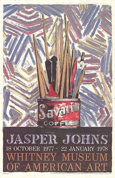 Jasper Johns, 'Savarin Cans-Monotype', 1978