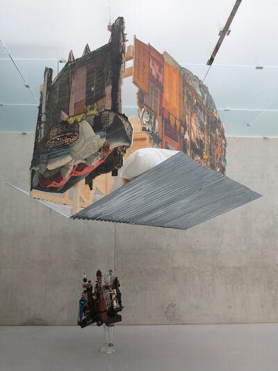 Pascale Marthine Tayou, 'The Falling House', 2014