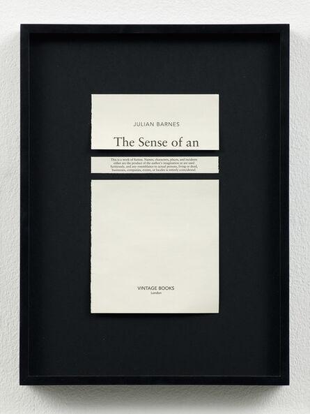 Meriç Algün Ringborg, 'Disclaimers (Julian Barnes: The Sense of an Ending)', 2014