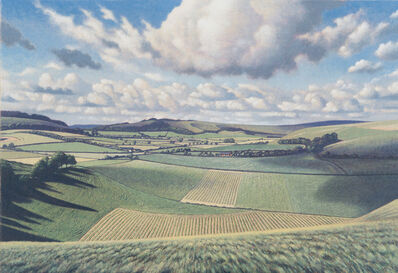 James Lynch (b. 1956), 'Cloud Suck, Mere, Wiltshire - A Parallel Reality'