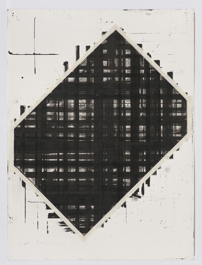 Ed Moses, 'Cubist Drawing #10', 1977-1978