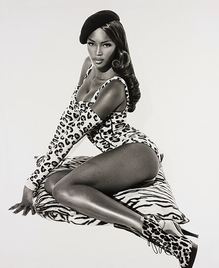 Herb Ritts, 'Naomi Seated, Hollywood', 1991