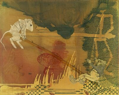 Sigmar Polke, 'Country Mouse and City Mouse (lies and wonders of the painting)', 1997