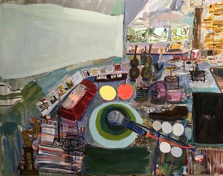 Lisa Sanditz, 'Tim's Studio', 2018