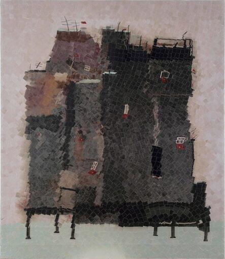 Azade Köker, 'Häuser im Wasser', 2017