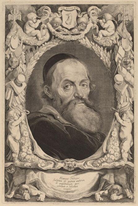 Jonas Suyderhoff, 'Hendrik Goltzius'