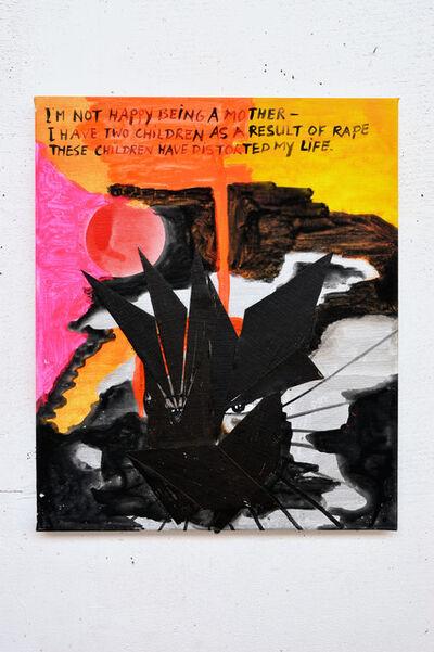 Charlotte Schleiffert, 'I'm not happy being a mother...', 2013