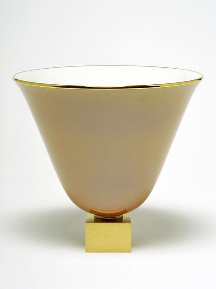 Jacques-Emile Ruhlmann, 'Vase Ruhlmann n°3 (cognac)', ca. 1930
