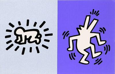 Keith Haring, 'Memorial Tribute Invitation', 1990