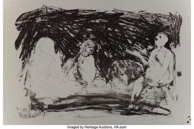 Eric Fischl, 'Annie, Gwen, Lilly, Pam, and Tulip (Three seated women)', 1987