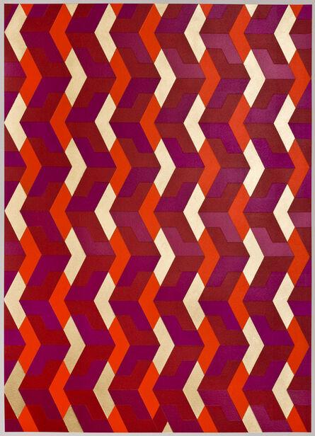 Gianluca Franzese, 'Chevron Red', 2015