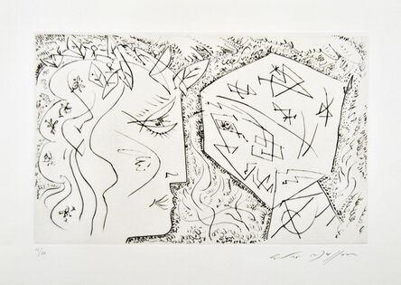 André Masson, 'Apollon et Dionysos', 1950