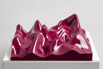 Peter Saville, 'Unknown Pleasure, Claret Violet', 2012