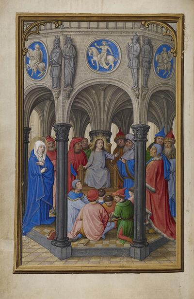 Simon Bening, 'Jesus Among the Doctors', 1525-1530