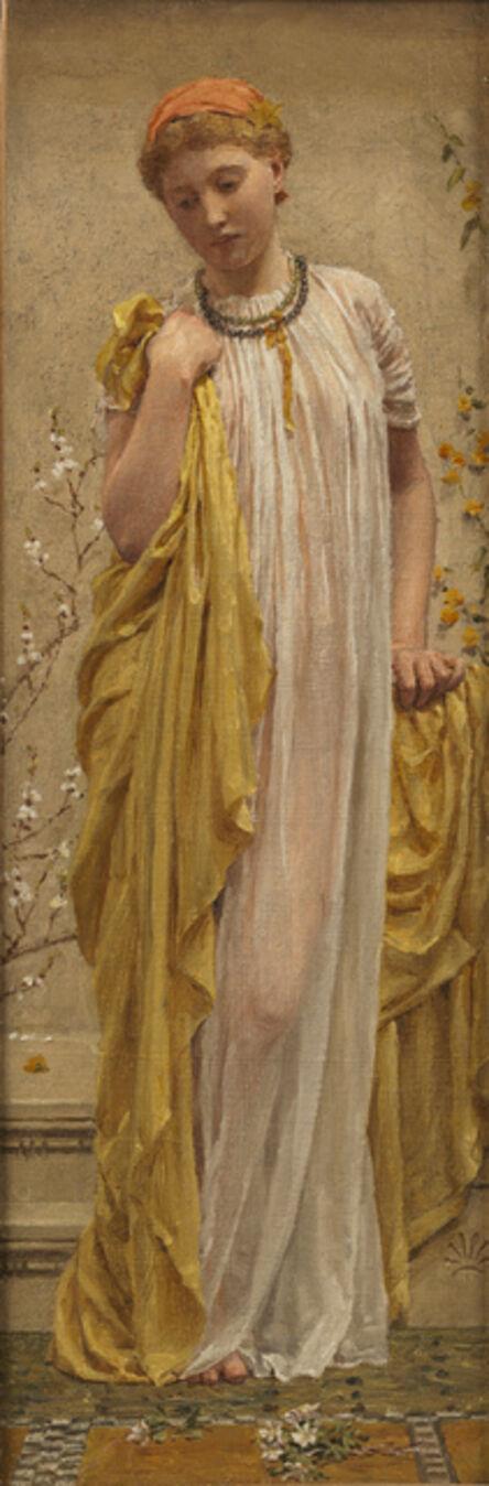 Albert Joseph Moore, 'Anemones', 1880