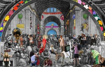 Lluis Barba, 'The School ofAthens, Raphael', 2011