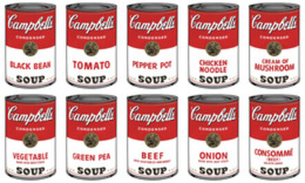 (after) Andy Warhol, 'Campbell's Soup Can I Portfolio (10 prints)', 1960s printed after