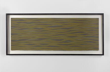 Sol LeWitt, 'Horizontal Brushstrokes in Color', 2003