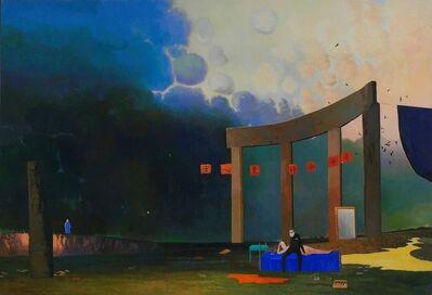 Wan-Chun Wang, 'Strolling by a Streamside', 2012