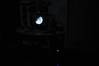Zhengyuan Lu, 'The Moon in My Room', 2010