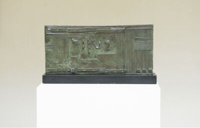 Henry Moore, 'Wall Relief, Maquette no.1', 1955