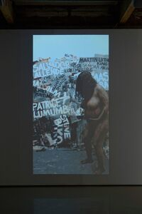 Tracey Rose, 'The Black Paintings: Dead White Man', 2012
