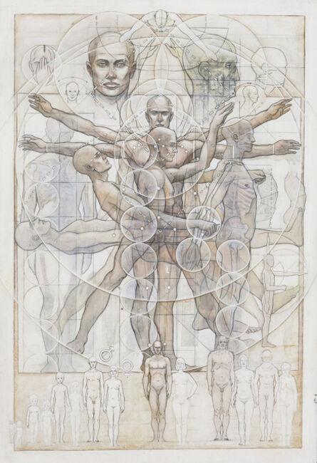 Casey Cripe, 'Human Proportions (v.1.2)', 2015