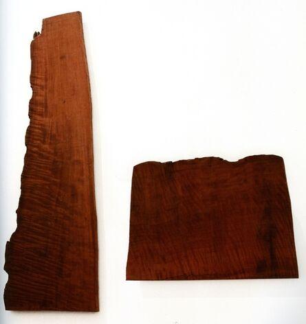 David Nash, 'Two Mountains ', 2011