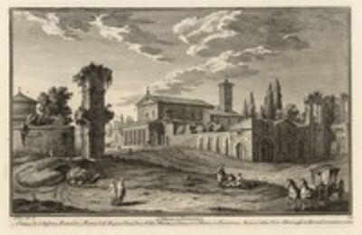 Giuseppe Vasi, 'S. Maria in Domenica', 1747